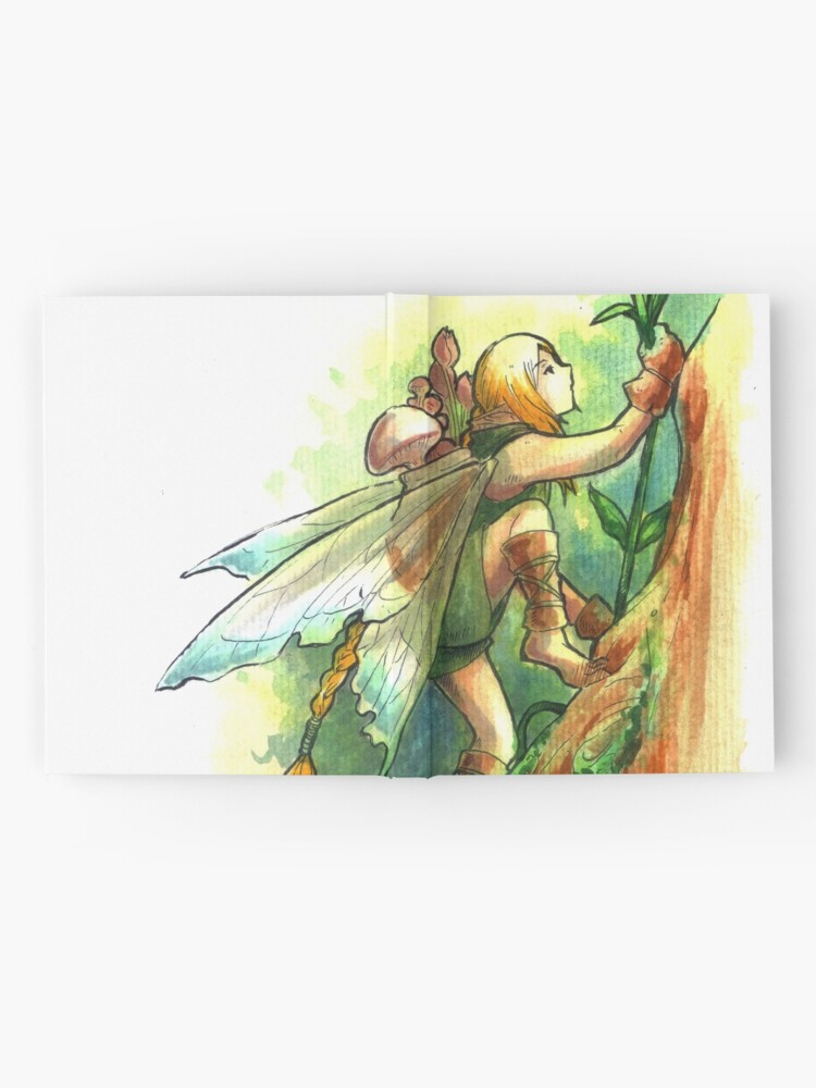 Alternate view of The Climb Fairy Hardcover Journal
