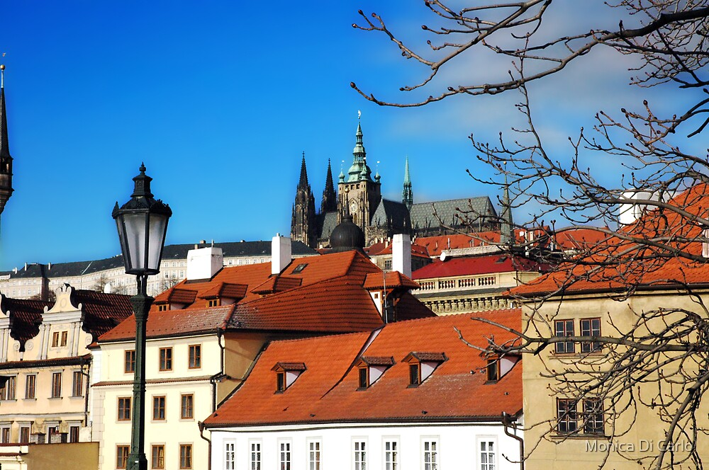 Prague roofs by Monica Di Carlo