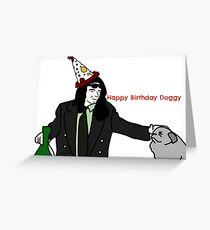 Happy birthday Doggy Greeting Card