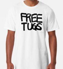 FREE TUGS (black) Long T-Shirt