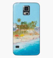 San Clemente Strandmalerei Hülle & Klebefolie für Samsung Galaxy