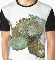 Graphic Iguana Graphic T-Shirt