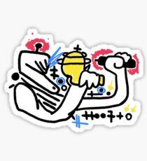 Conflict Spaceman Sticker