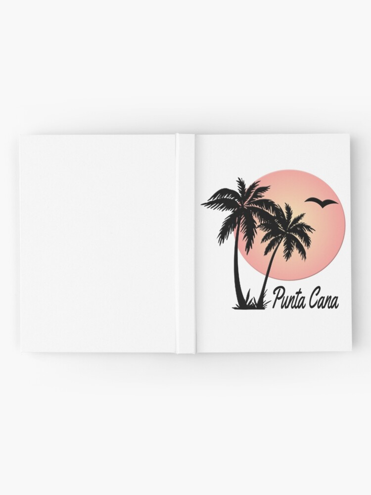 Alternate view of Punta Cana Souvenir Gift Dominican Republic Palm Hardcover Journal