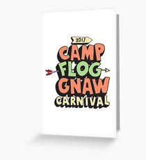 Camp Flog Gnaw 2017 Greeting Card