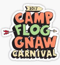 Camp Flog Gnaw 2017 Sticker