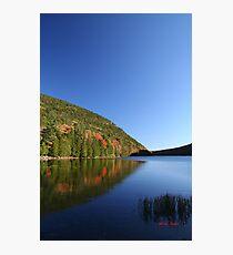 Jordans' Pond with Bubble Mountains Photographic Print