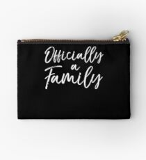 Officially a Family Adoption Studio Pouch