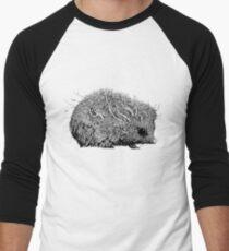 Leaf Hedgehog Men's Baseball ¾ T-Shirt