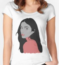 banks muted Women's Fitted Scoop T-Shirt