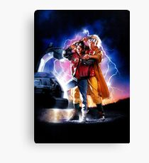 Back to the Future II Canvas Print