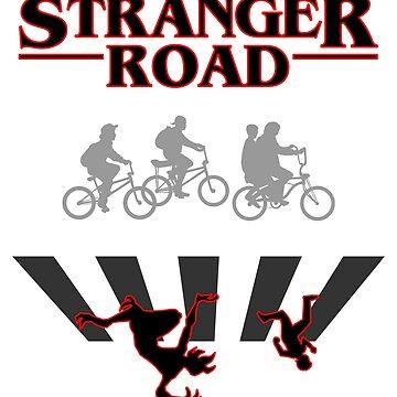 Stranger Road T-Shirt by karbondream