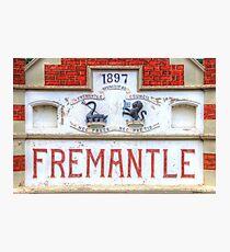 Fremantle Markets - HDR - Fremantle WA Photographic Print
