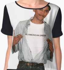 Young Barack Obama  Chiffon Top