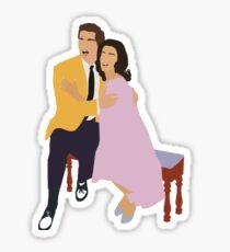 Maria and Tony Sticker