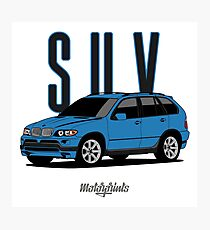 SUV E53 (blue) Photographic Print