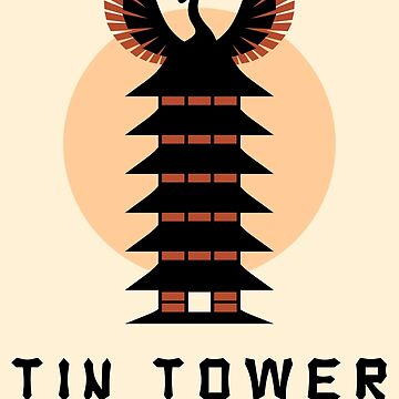 Tin Tower by MagentaBlimp