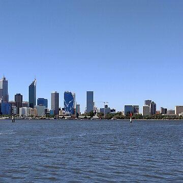 Perth, Western Australia by artbyjanelucas