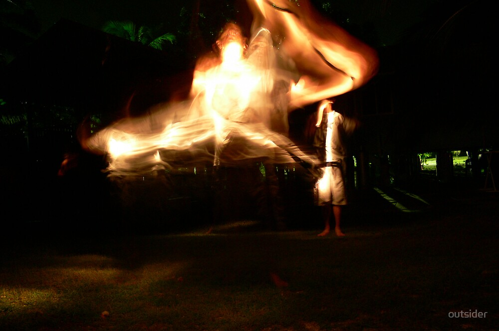 self portrait - releasing the genie... by outsider