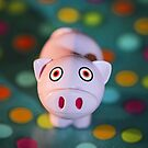 Pig in Polka Dots by Suvi  Mahonen