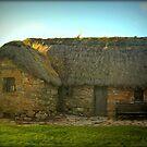 Leanach Cottage on Culloden Battlefield by anitahiltz
