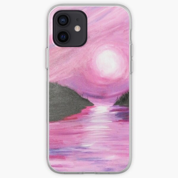 Pink Sky At Night Sailors Delight iPhone Soft Case