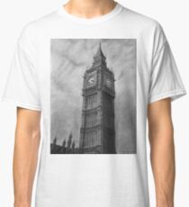 0598aebc7 Big Ben London Pencil Drawing Classic T-Shirt
