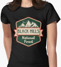 Black Hills National Forest Women's Fitted T-Shirt