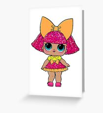 LOL Surprise Dolls - Glitter Queen Greeting Card