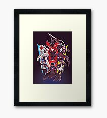 The Protagonists - Persona Framed Print