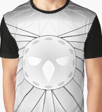 Mystic Owl - Black and White Graphic T-Shirt