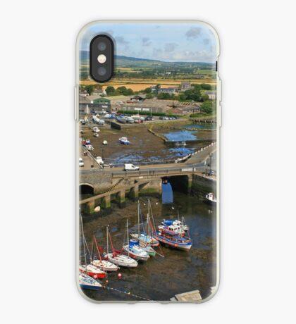Castletown Harbour iPhone Case