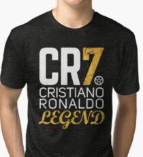 CR7 legend gold Tri-blend T-Shirt