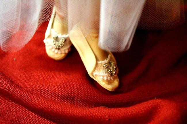 Tiny BJD Shoes by Patricia  Cabrera
