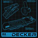 Shadowrun - Decker Shirt (Version 3) von TimMcDaunting