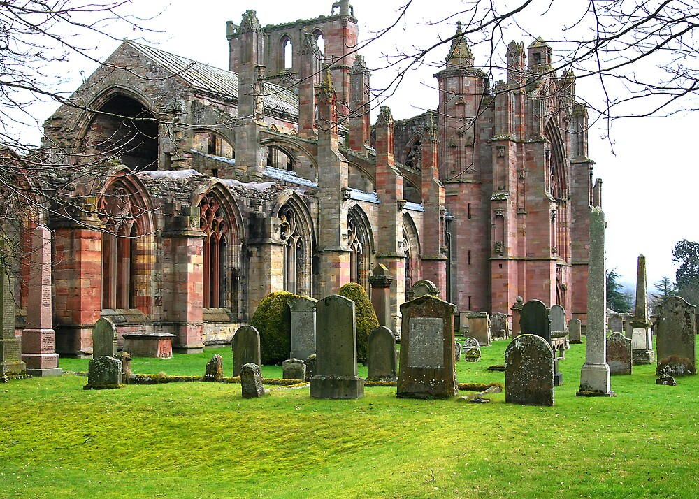Melrose Abbey by dsargent