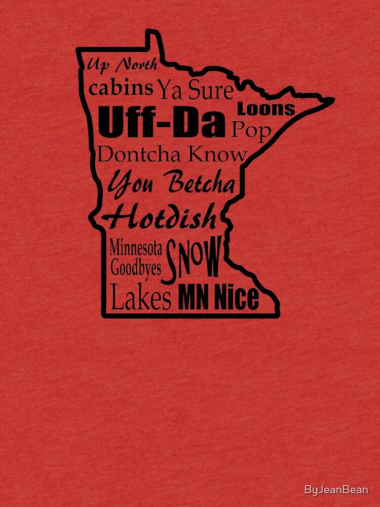 Minnesota Sprüche - Minnesotans von ByJeanBean