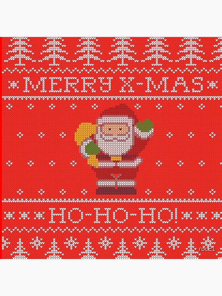 Merry Christmas from Santa Claus, ho-ho-ho! de roc21
