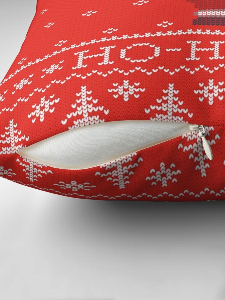 Vista alternativa de Cojín Merry Christmas from Santa Claus, ho-ho-ho!