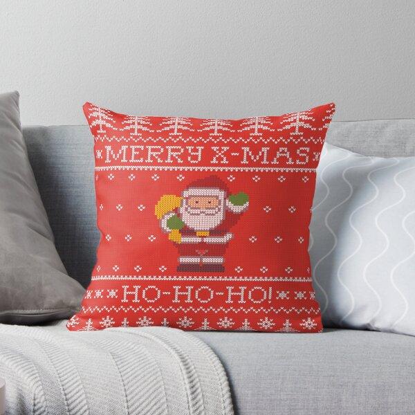 Merry Christmas from Santa Claus, ho-ho-ho! Cojín