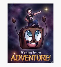 It's Time for an Adventure! Photographic Print