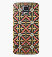 Bold geometric retro pattern designed by Christopher Dresser – State Library Victoria Case/Skin for Samsung Galaxy