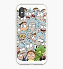 Vinilo o funda para iPhone Rick y Morty - Superados en número ...