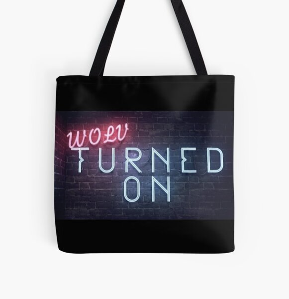 Turned On Intro Logo All Over Print Tote Bag