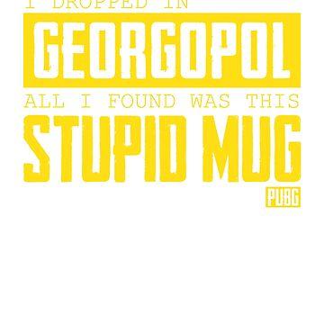 PlayerUnknown's Battlegrounds - PUBG - Dropped in Georgopol - Mug by theodoros20