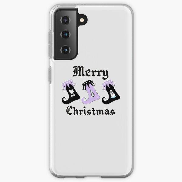 Merry Christmas Pastel Goth Elf Stockings Samsung Galaxy Soft Case