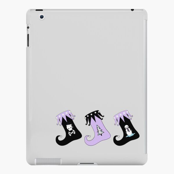 Merry Christmas Pastel Goth Elf Stockings iPad Snap Case