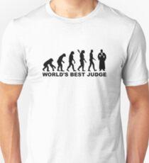 Evolution world's best judge T-Shirt
