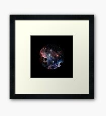 Planet Scape Framed Print