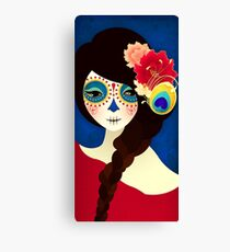 Muertita: Candy Canvas Print